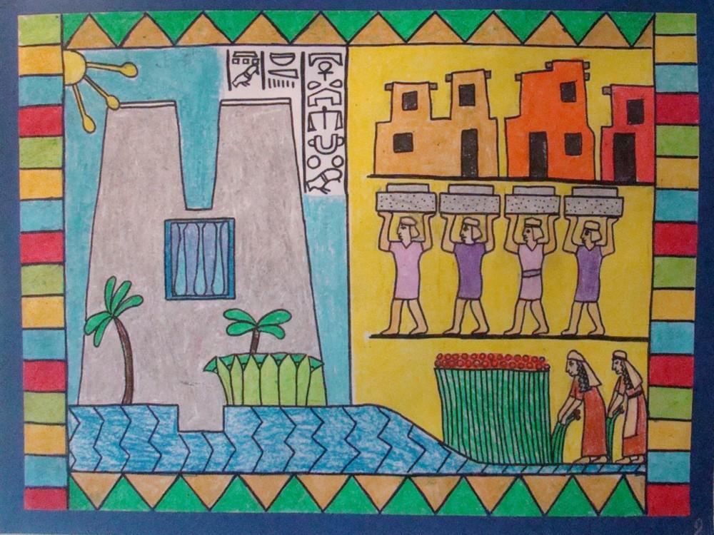 Рабство еврейского народа в Египте